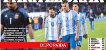 TV MUNDUS – Deporvida 323 | Argentina empató con Venezuela y complica su camino a Rusia 2018.