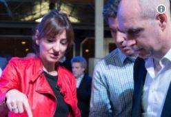 María Acuña y Rodríguez Larreta quieren llevar a la Policía a los estudiantes.