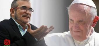REGIÓN – Colombia | Carta abierta al Papa Francisco del líder de FARC, Rodrigo Londoño.