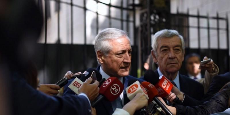 José Octavio Bordón, el Embajador macrista en Chile sospechado por el falso ataque a la Embajada argentina.