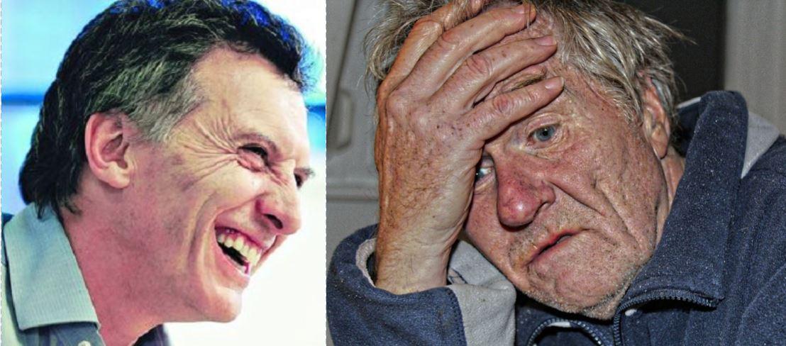 Mauricio Macri destruye la obra social de los jubilados.