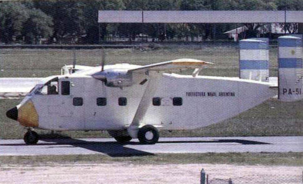 El avión de Prefectura tendrá que reabastecerse en Bahía Blanca para poder llegar a Buenos Aires.