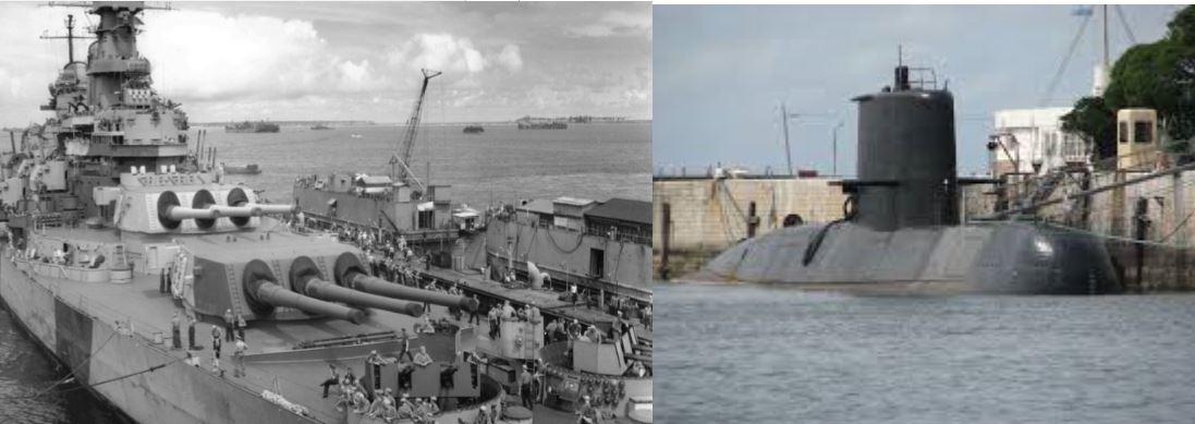 El submarino habría estado haciendo maniobras con Estados Unidos sin la autorización del Congreso.