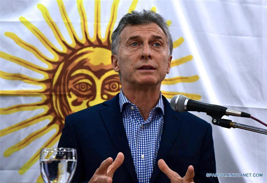 El Presidente Macri no asumió responsabilidades.