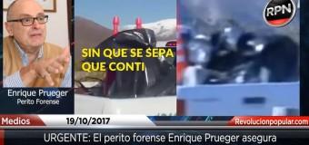 DERECHOS HUMANOS – Régimen | Un perito de prestigio demuestra que el cuerpo de Santiago Maldonado fue plantado diez días antes de que lo encontraran.