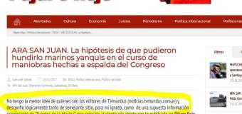 MEDIOS – Respuesta | Pájaro Rojo se burla de TV Mundus.