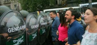 JUBILACIONES – Régimen | Macri dispuso un operativo represivo de consideración sobre la Capital Federal.