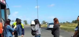 REPRESIÓN – Régimen | Durante todo el día la Policía de Vidal requizaba a cuanto micro iba a la CABA.