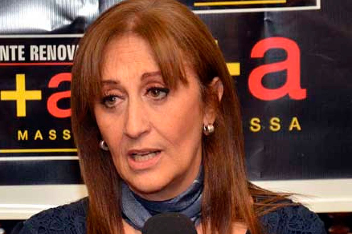 Mirta Tundis. Diputada ex columnista del Grupo Clarín.