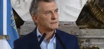 EDITORIAL – Régimen | El Presidente Macri hizo anuncios al borde de la irrealidad mental.