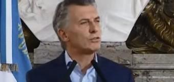 ECONOMÍA – Régimen | Macri dio un mensaje lleno de falacias económicas.
