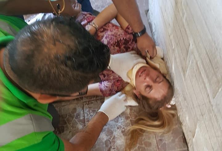 Laura González sigue internada ante la agresión de los matones del PRO de Quilmes.
