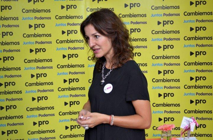 Soledad Acuña, Ministra macrista de Educación en la CABA. Quiere cerrar los Profesorados públicos.