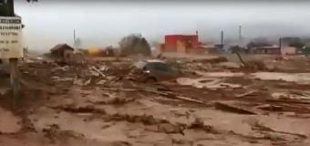 SALTA – Sociedad | Evacuan a 10.000 que sufren un Pilcomayo desbordado como consecuencia del desmonte irracional. Urtubey ausente.