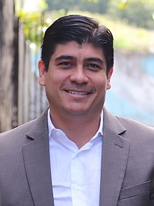 Carlos Alvarado es el nuevo Presidente de Costa Rica.