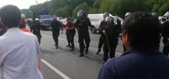 TRABAJADORES – Régimen | La policía macrista golpeó a los científicos y trabajadores del INTI.