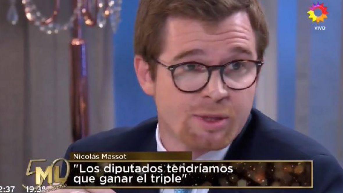 El macrista Nicolás Massot, hijo de una familia de represores de la dictadura, hizo fracasar el debate por los tarifazos.