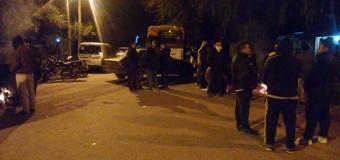 TRABAJADORES – Régimen | La Gendarmería reprime a los trabajadores de Cresta Roja.