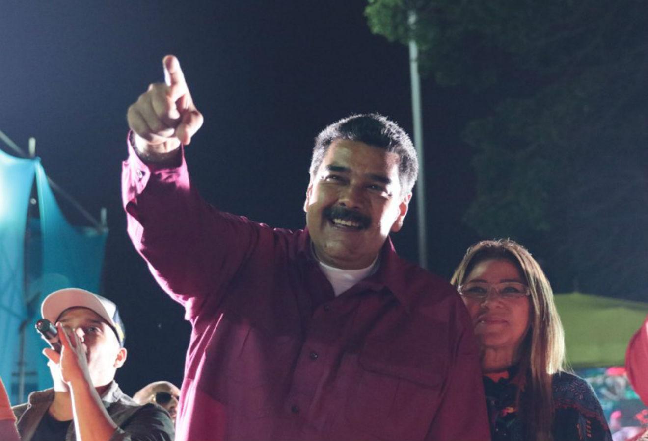 Nicolás Maduro obtuvo una contundente reelección con el 67 % de los votos.