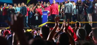 REGIÓN – Venezuela   Contundente reelección de Nicolás Maduro en la República Bolivariana con el 67 % de los votos.