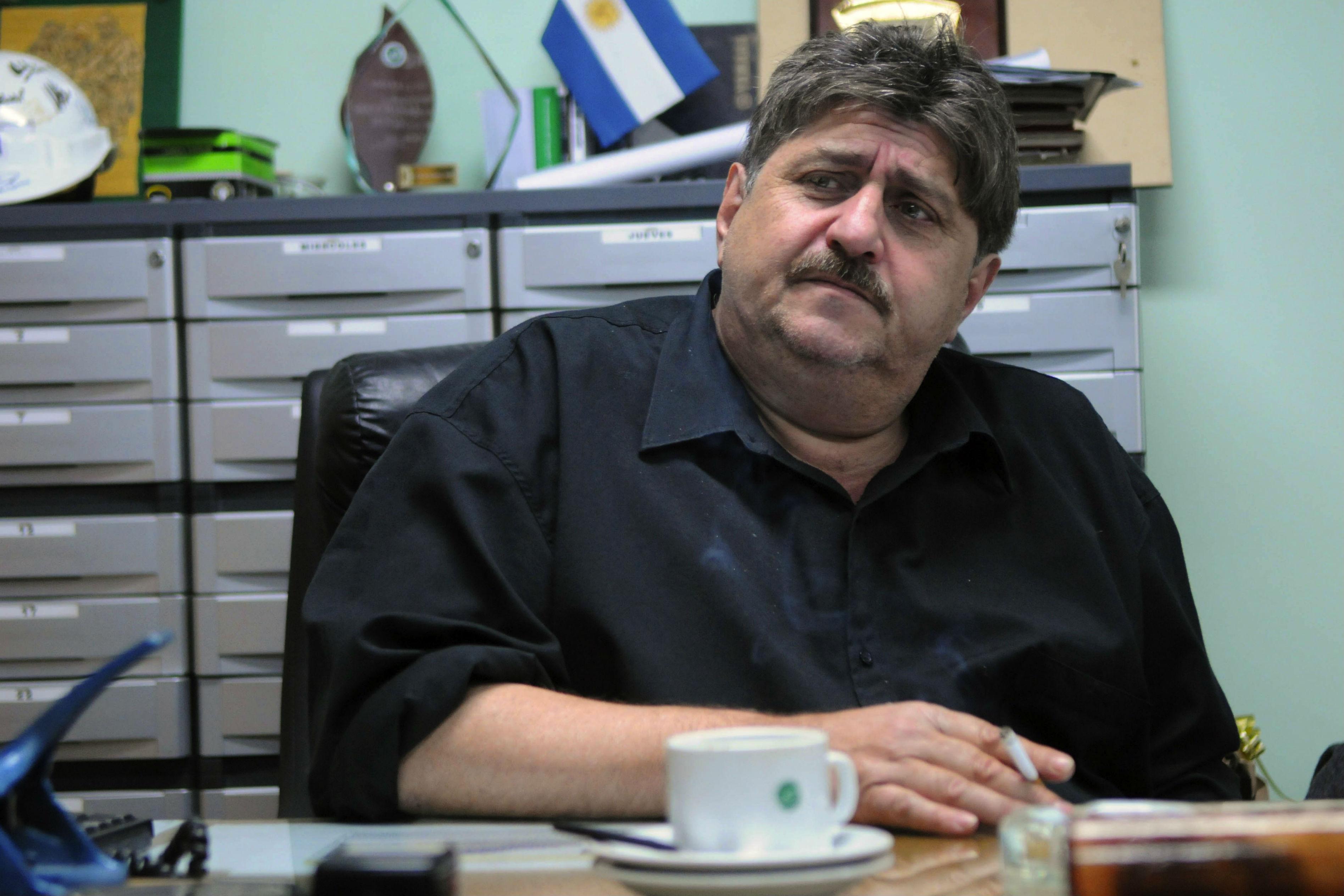 El sindicato SMATA que conduce Ricardo Pignanelli teme por la suerte de los suspendidos en la planta de Rosario de GM.