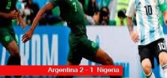 TV MUNDUS – Deporvida 334 | Argentina clasificó a octavos en el Mundial de Rusia