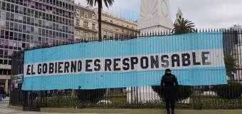 TRAGEDIA ARA SAN JUAN – Régimen | Los familiares de los submarinistas llevan 22 días de acampe en Plaza de Mayo.