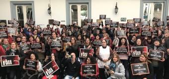 TRABAJADORES – Régimen | Paro Nacional docente en repudio a los educadores reprimidos en Chubut.
