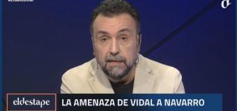 CENSURA – Régimen | El entorno de María Vidal amenaza en directo a programa de TV colega.