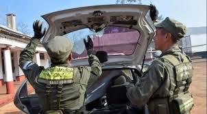 Operativo en el que encontraron 40 kg de marihuana en el auto de la colabora de Ramiro Tagliaferro.
