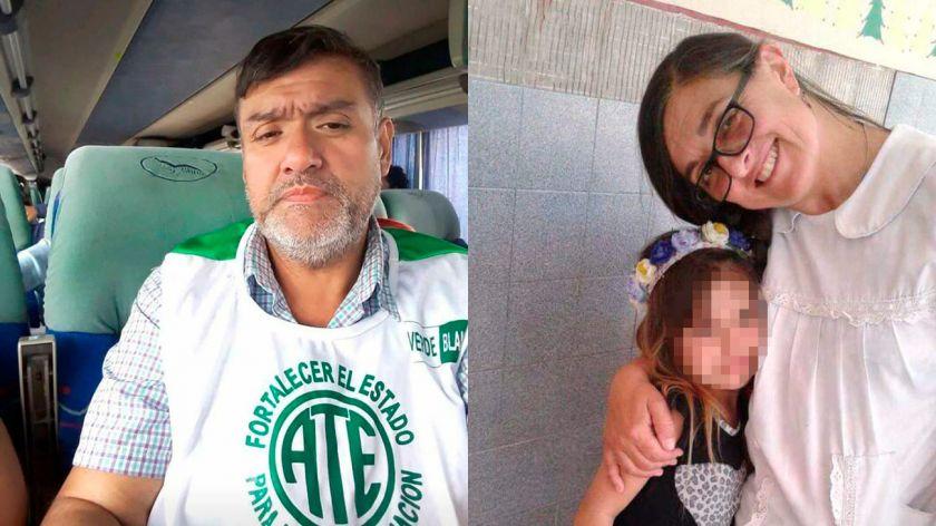 Rubén Rodríguez y Sandra Calamano, víctimas fatales de la desidia de Vidal.
