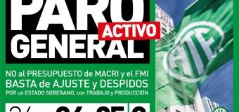 TRABAJADORES – Régimen    Los estatales pararán 36 horas el 24 y 25 de septiembre.