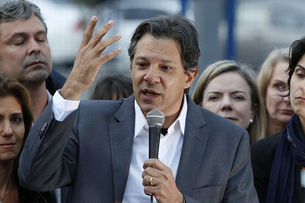 Ante la proscripción de Lula, Fernando Haddad es el candidato presidencial del PT.