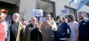 ECONOMÍA – Régimen |  Marcha de organizaciones sociales contra los tarifazos.
