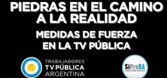 MEDIOS – Régimen | Comunicado de los trabajadores de la Televisión Pública