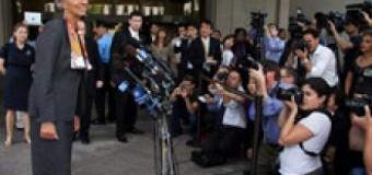 MUNDO – Corrupción | Lagarde, Presidenta del FMI, podría ir un año a prisión por malversar fondos públicos.