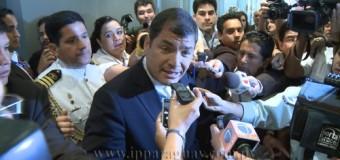 REGIÓN – Ecuador | Rafael Correa sostiene que hay un plan para destruir a Alianza País.
