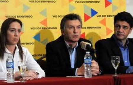 María Vidal, Mauricio MAcri y Jorge Macri. Los tres a cubiertos de la justicia.