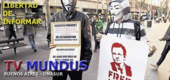 EDITORIAL – Libertad de expresión | Los periodistas mexicanos premiaron a Julián Assange y a Stella Calloni.