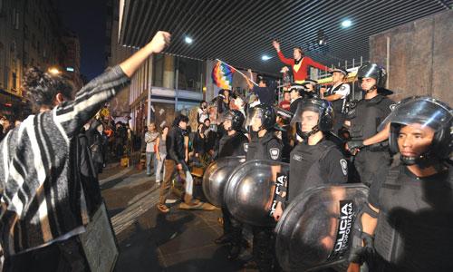Macri prepara un fuerte aparato represivo.