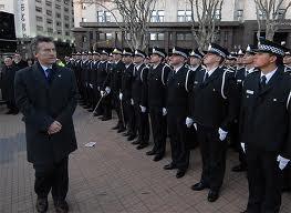 La Policía Metropolitana fue creada por Macri con asesoramiento de represores y policía exhonerados de otras fuerzas.