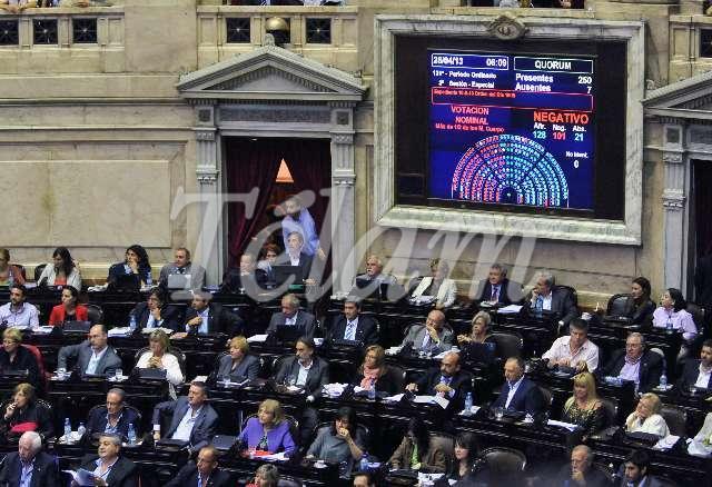 Congreso_ReformaJusiticia2013_TELAM_08_Votacion