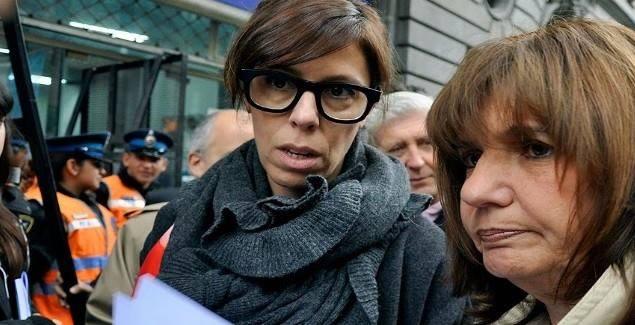 Laura Alonso (socia de los fondos buitre) y Patricia Bullrich.