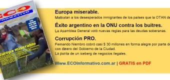 ECO INFORMATIVO | Salió el N° 65, gratis en PDF