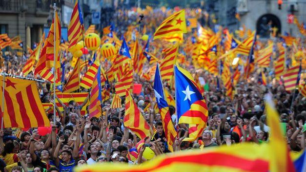 Los catalanes en su mayoría quieren salir del dominio de Madrid.