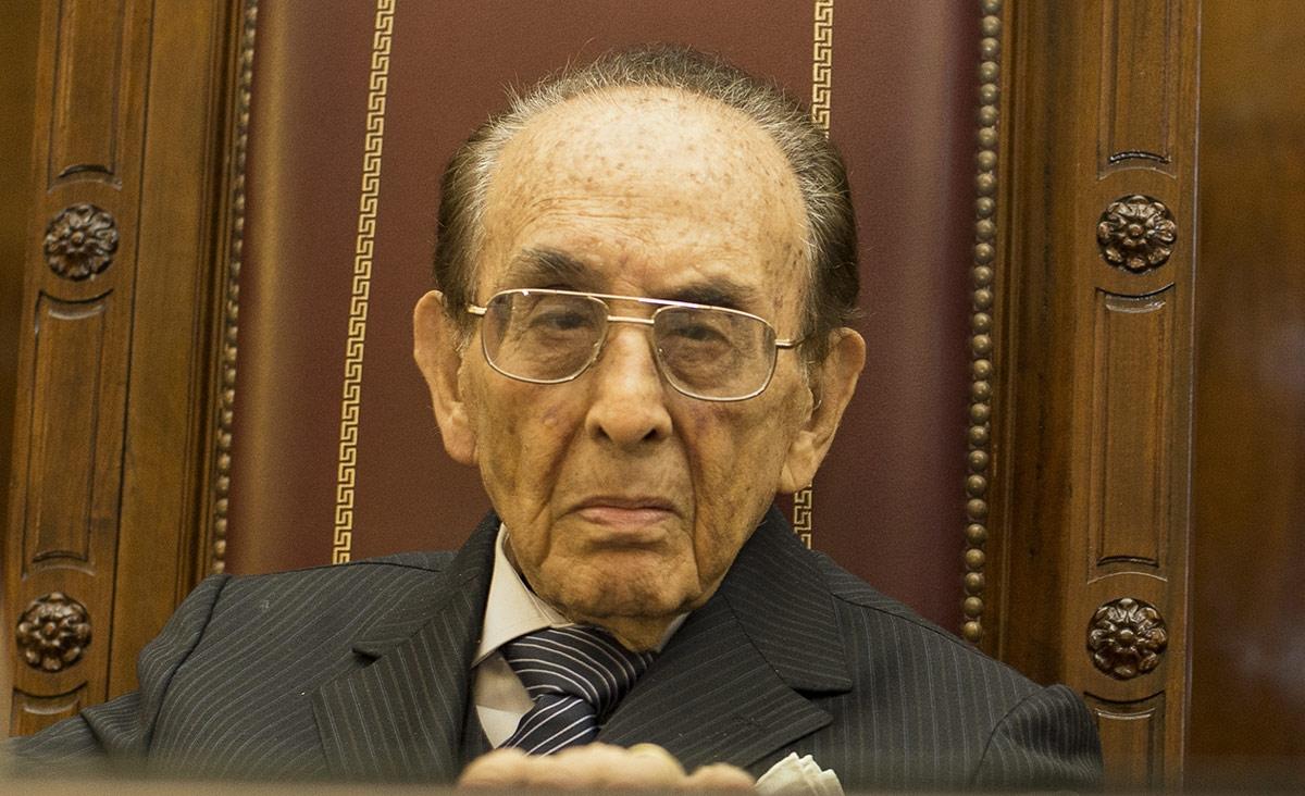 Carlos Fayt tiene 97 años  y representa a sectores ultramontanos. Es un férreo defensor de las corporaciones.