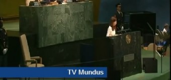TV MUNDUS – NOTICIAS | Cristina Fernández en Naciones Unidas