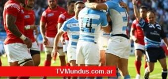 TV MUNDUS – Deporvida   Argentina le ganó a Tonga en el Mundial de Rugby