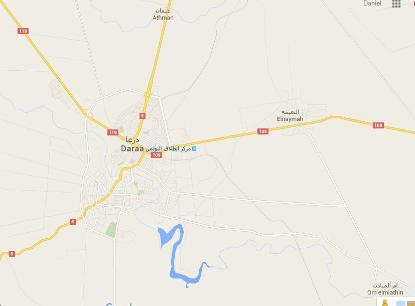 En Deraa se empezaron a entregar terroristas del norteamericano Ejército Islámico.
