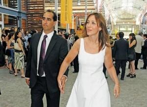 La Gobernadora María Eugenia Vidal de la mano del Intendente de Morón Ramiro Tagliaferro. Se separaron por infidelidades de ella.